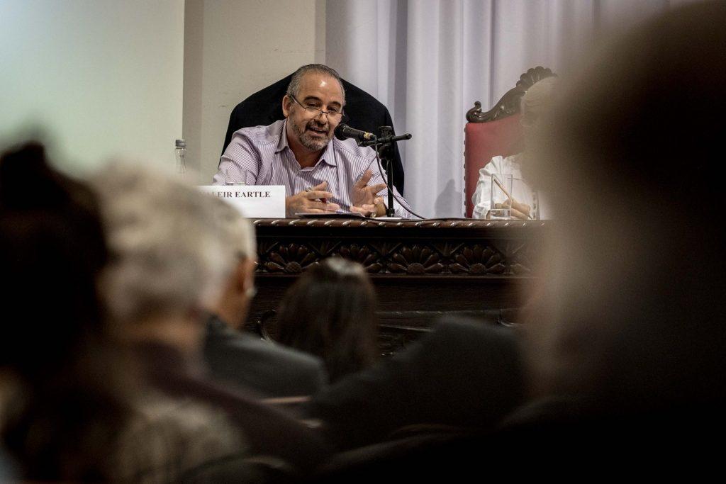 O diretor jurídico da CUT Nacional, Valeir Ertle. Foto: Gibran Mendes