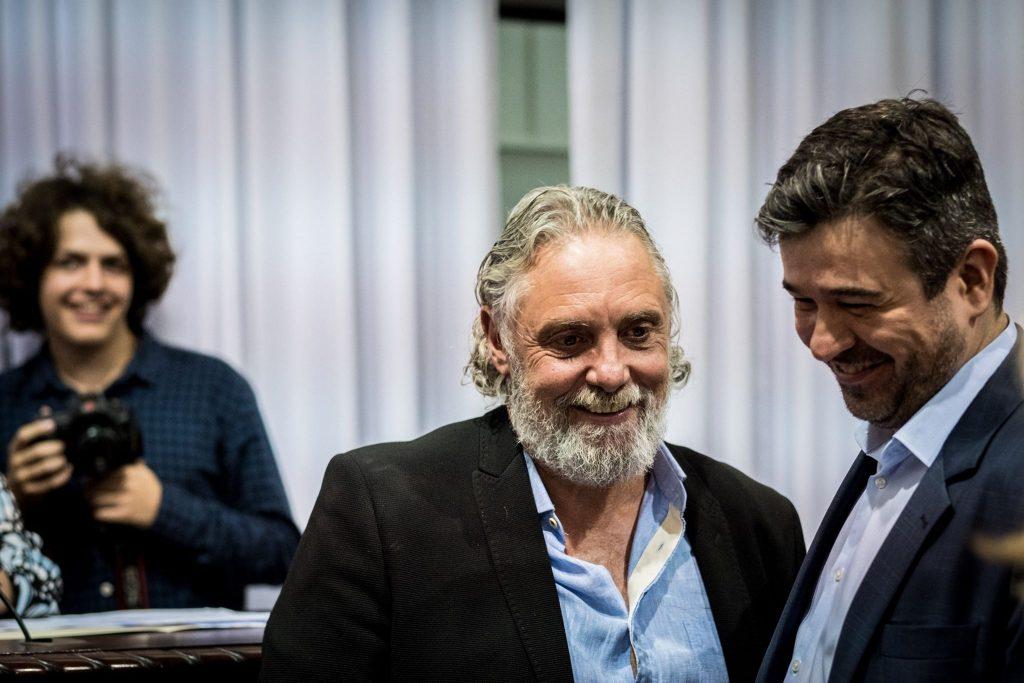 Xixo e Nasser Allan. Foto: Gibran Mendes