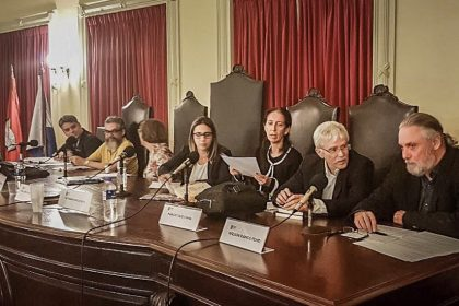 Seminário na UFJR. Foto: Divulgação / Instituto Declatra